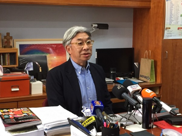 倪重華針對北影事件第三度道歉。(圖由北市文化局提供)