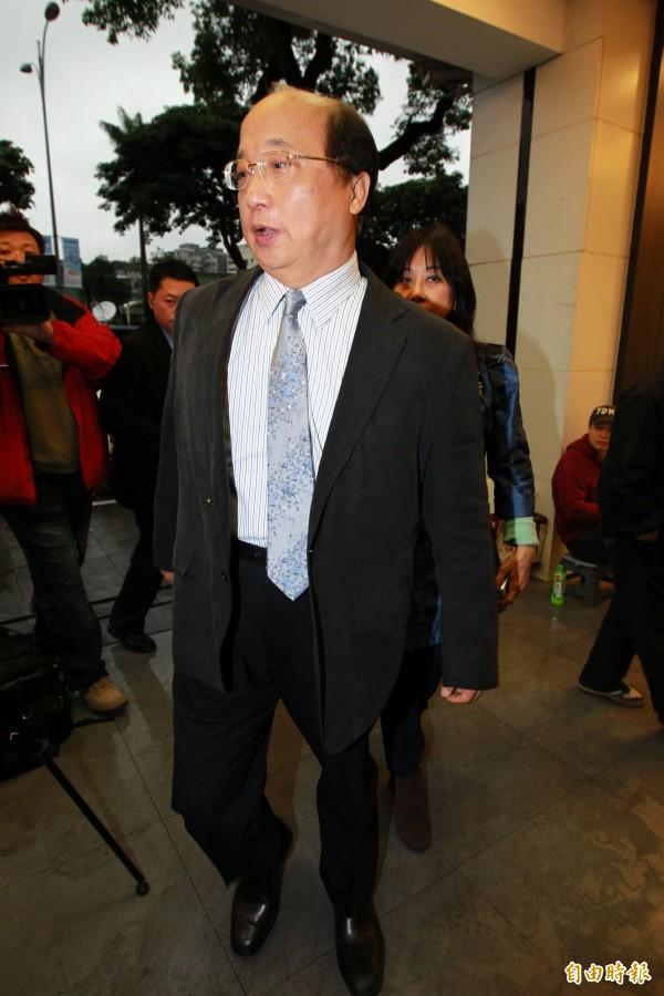 朱立倫競選總部主委,目前傳出前台中市長胡志強將可能出線。(資料照,記者陳逸寬攝)