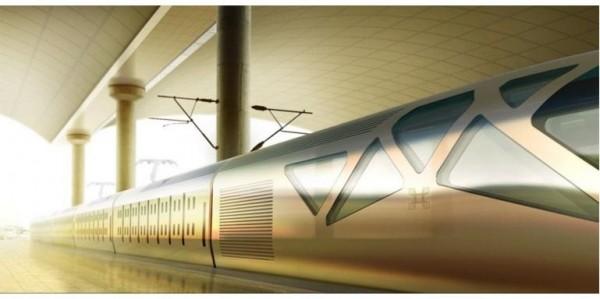 金色系的四季島列車外觀相當氣派。(圖擷取自網路)