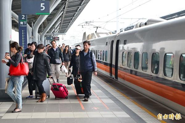 旅運量不少的高鐵,防恐應變受到關注。(記者吳俊鋒攝)