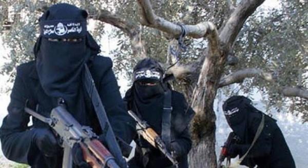 據美國統計,去年至今逮捕的「伊斯蘭國」(IS)成員中,女性就佔了14%,顯示有越來越多女性實際參與恐怖活動。(圖擷自SyriaDeeply.org)