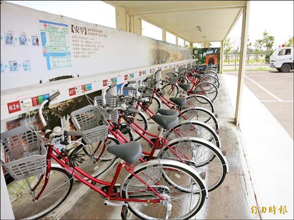 南市預於明年起建置低碳T-Bike,三年內投入四億元。(記者洪瑞琴攝)