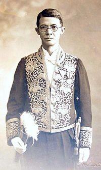 台灣第一位醫學博士杜聰明。(取自維基百科)