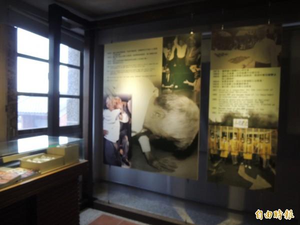 多年前蘇貞昌競選台北縣長最後造勢晚會,盧修一歷史性一跪,成就蘇的勝選。(記者黃其豪攝)