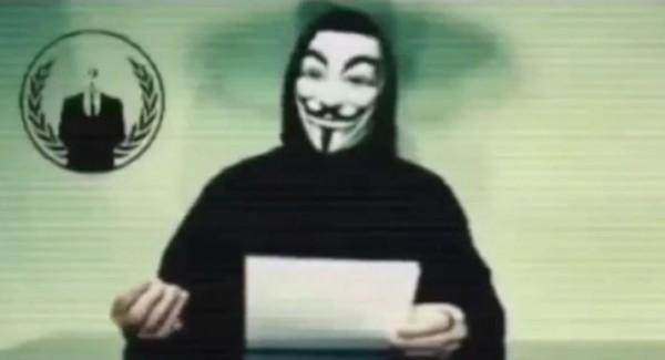 駭客組織「匿名者」向共和黨總統候選人川普宣戰。(圖片擷取自《鏡報》)