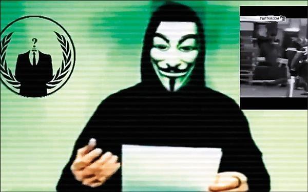 日本當局表示,在推特上有發現1名自稱為「匿名者」的網友對這起攻擊表示負責,但目前尚未確認其真實性。(路透)