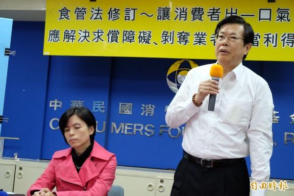 消基會董事長陸雲認為,秒買秒退行動有失台灣人「溫柔敦厚」本質。(資料照,記者陳炳宏攝)