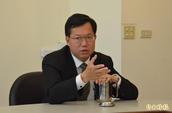 桃園市長鄭文燦下午將表揚「IEYI世界青少年發明展」獲獎團隊。(資料照,記者邱奕統攝)