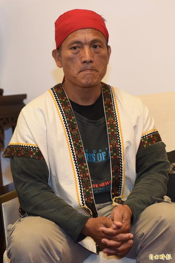 台東海端鄉布農族獵人王光祿Talum上山打獵判刑確定,檢察總長提非常上訴。(資料照,記者簡榮豐攝)