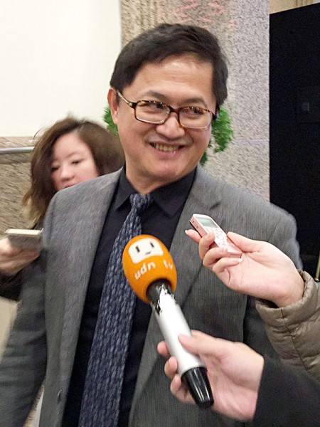 台北市電腦公會理事長童子賢表示,某種程度上認同郭台銘批評紫光是炒股集團的說法。(中央社資料照)