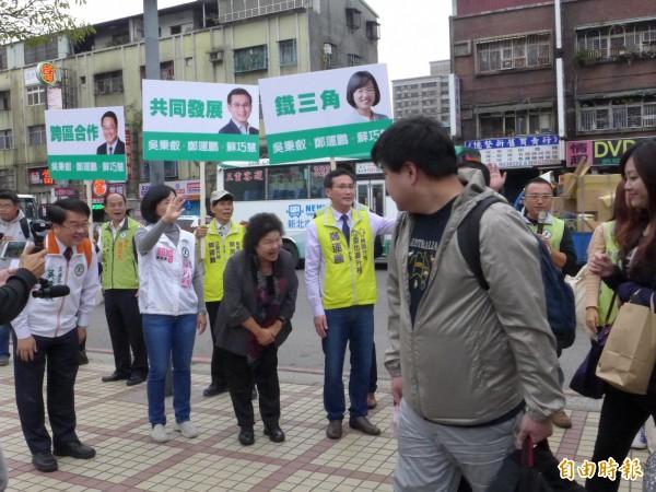 國民黨分裂投票,引發綠色憂鬱?(資料照,記者李雅雯攝)