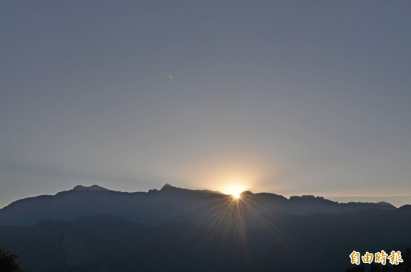阿里山日出之美。(資料照,記者余雪蘭攝)