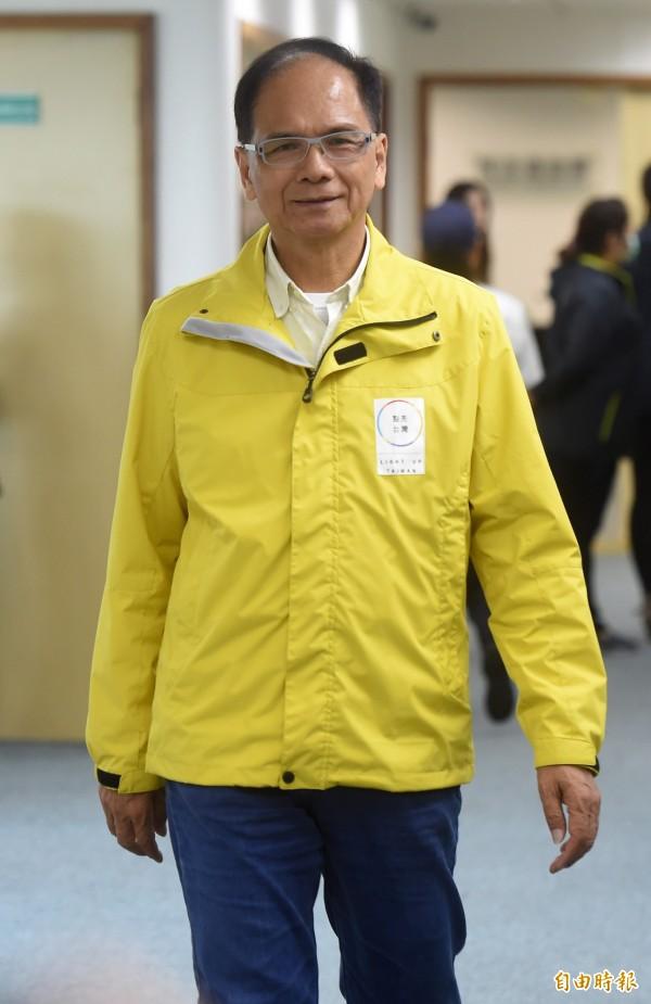 前行政院長游錫堃最近都在忙著助選。(資料照,記者簡榮豐攝)