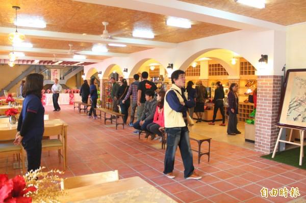 甲仙區農會拚梅子轉型,「梅宴芳」觀光工廠廿日開始試營運。(記者陳祐誠攝)