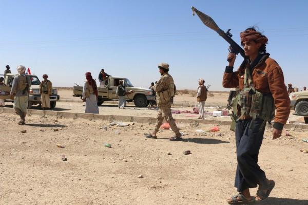 近日來葉門政府軍與反抗軍在西北部城鎮爆發激戰,至少造成75人死亡,並約有50人受傷。(歐新社)