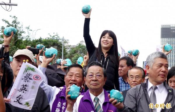 小豬回娘家活動,民眾熱情參與。(記者羅沛德攝)