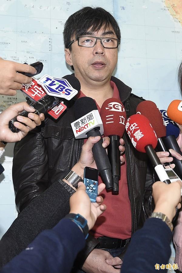 台北地檢署本週將再傳喚段宜康出庭。 (資料照,記者陳志曲攝)