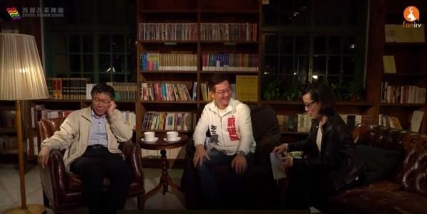 李慶元表示,自己支持公共住宅,但不應該全部集中在一個區內。(圖擷取自直播影片)
