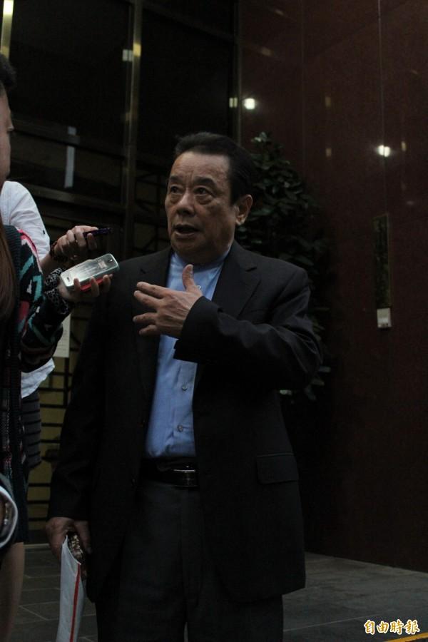 已潛逃出境的前工商總會理事長陳武雄。(資料照,記者侯柏青攝)