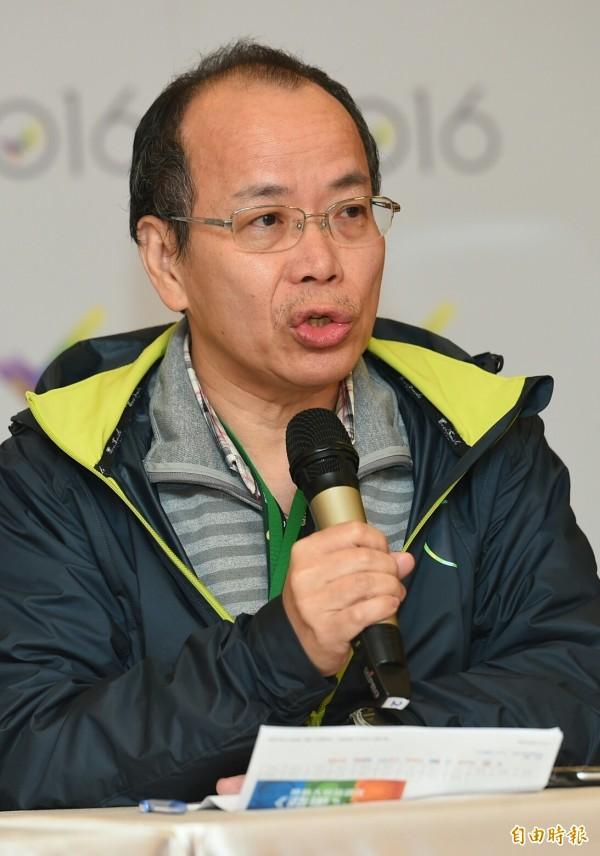 蔡英文競選總部政策執行長張景森。(資料照,記者張嘉明攝)