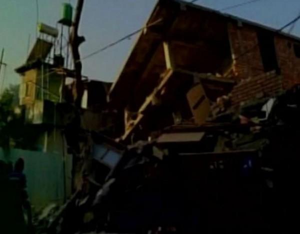 印度東北部今晨發生芮氏規模6.7的地震。(圖取自推特)