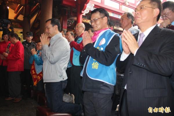 國民黨高層表示,朱立倫最後一周將堅守北台灣。(資料照,記者黃美珠攝)