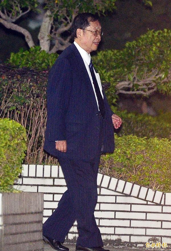 幸福人壽前董事長黃正一被裁定2.8億元交保,家屬在5天內湊齊金額才將他保出。(資料照,記者王藝菘攝)