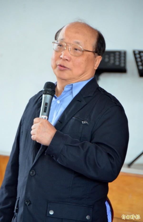 胡志強解釋,國民黨昨日公布的民調是有經過加權統計。(資料照,記者陳鳳麗攝)