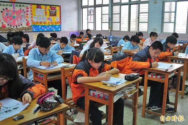 全國高中、國中及國小將從1月21日開始放寒假,直到2月15日才開學。(資料照,記者花孟璟攝)