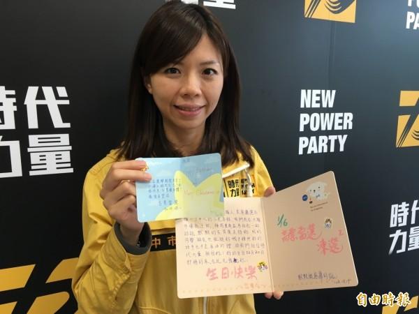 台中市立委第三選區時代力量黨候選人洪慈庸。(資料照,記者歐素美攝)
