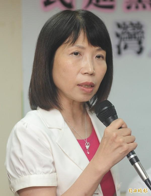 陳昭姿說,希望國民黨有朝一日重生後,能擺脫中國本色,成為台灣政黨。(資料照,記者廖振輝攝)