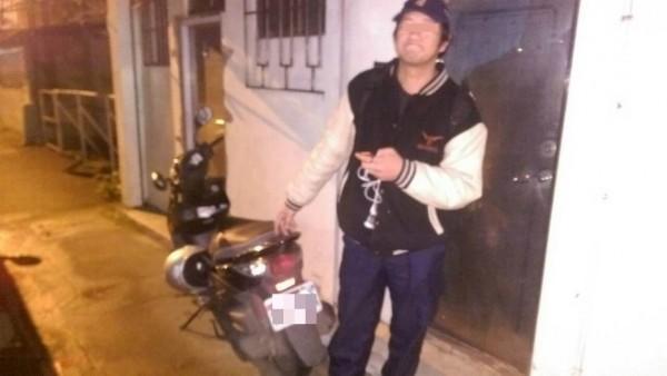 訊後,警方將錢男依竊盜罪嫌移送法辦。(記者姜翔翻攝)
