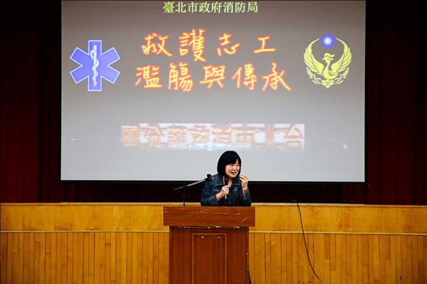 有「見鬼奇遇」的劉桂榮女士。(記者姚岳宏翻攝)