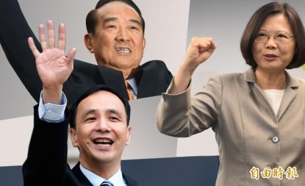 國內中山大學研究指出,若以「娃娃臉效應」分析,候選人越有娃娃臉,越會獲得選民支持。(圖為本報合成)