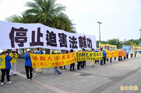 林善本和杜世雄去年12月初向中國最高人民檢察院及最高法院跨海投遞控告書,對象是中共前黨魁江澤民。(資料照,記者吳俊鋒攝)