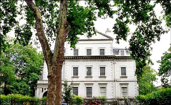 英國富豪亨特的豪宅。(取自網路)
