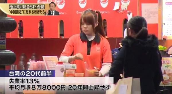 節目提到薪資問題。(圖取自東京電視台)