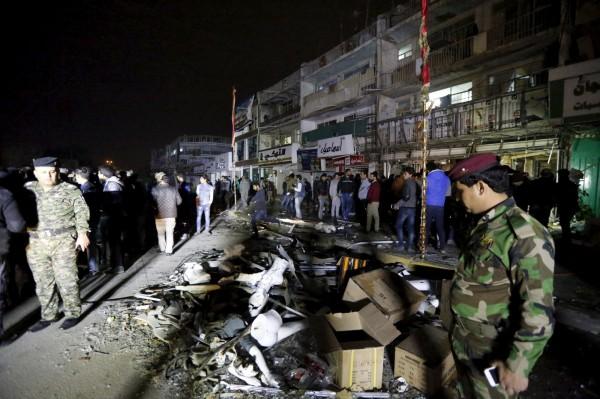 伊拉克首都巴格達11日遭到多起恐怖攻擊,至少51人死亡。(路透)