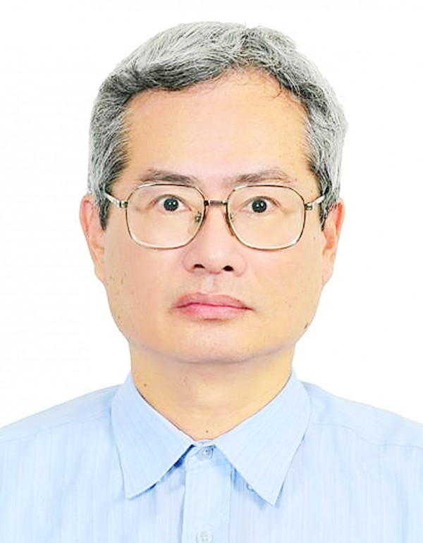 Former Industrial Technology Research Institute project research assistant Lu Hsyi-min has been discovered to have allegedly plagiarized papers from his colleagues. Photo: Taipei Times