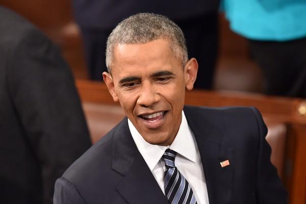 美國總統歐巴馬對國會發表最後一次國情咨文,著重經濟、氣候變遷、安全、選舉改革等4大主題。(法新社)