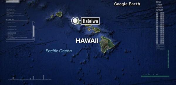 夏威夷驚傳飛機失事意外,兩輛軍機在歐胡島的哈雷瓦小鎮上空相撞並墜落。(圖擷自《abcnews》)