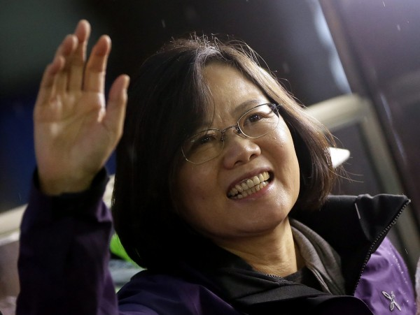 國際知名媒體《CNN》直接指出,台灣將選出首位女性領導人。(歐新社)