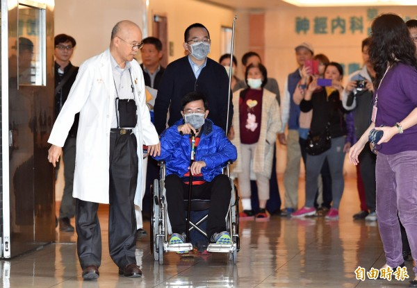 保外就醫的前總統陳水扁雖收到投票通知單,但無法投票。(資料照,記者張忠義攝)