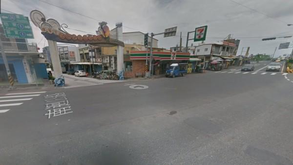 第一步,沿台1線南下至台9線交叉口可見善餘村入口。(翻攝google地圖)