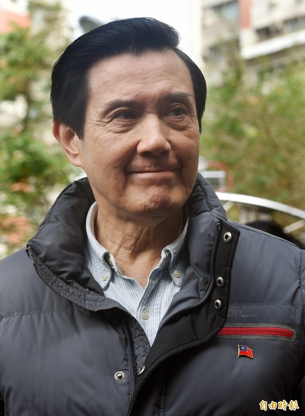 馬英九總統在毛揆寓所門口枯等五分鐘,最後只能請毛的夫人代轉。(資料照,記者廖振輝攝)