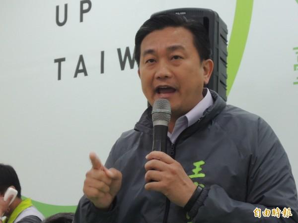 區域立委選舉全國最高票的王定宇,將獲得460萬元競選補貼。(記者洪瑞琴攝)