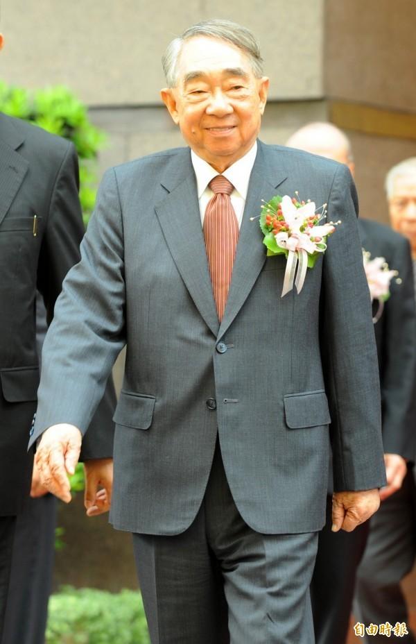長榮集團創辦人張榮發今天上午逝世。(資料照,記者王藝菘攝)