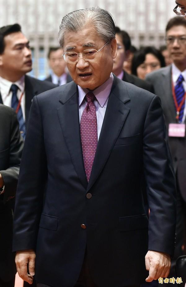 拒見總統馬英九一事,毛治國表示「不要在八卦上打轉」。(資料照,記者廖振輝攝)