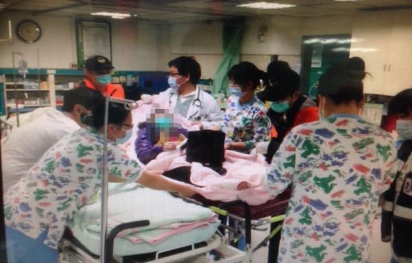 寒流來襲,彰化縣連日來有許多上了年紀的民眾因急性心肌梗塞送醫急救。(記者湯世名翻攝)