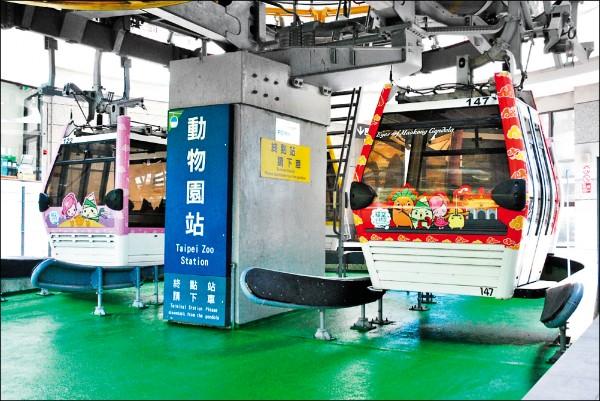 北市交通局表示,台北市民使用貓纜的比率僅約20%,其餘為外縣市、外國旅客。(資料照)
